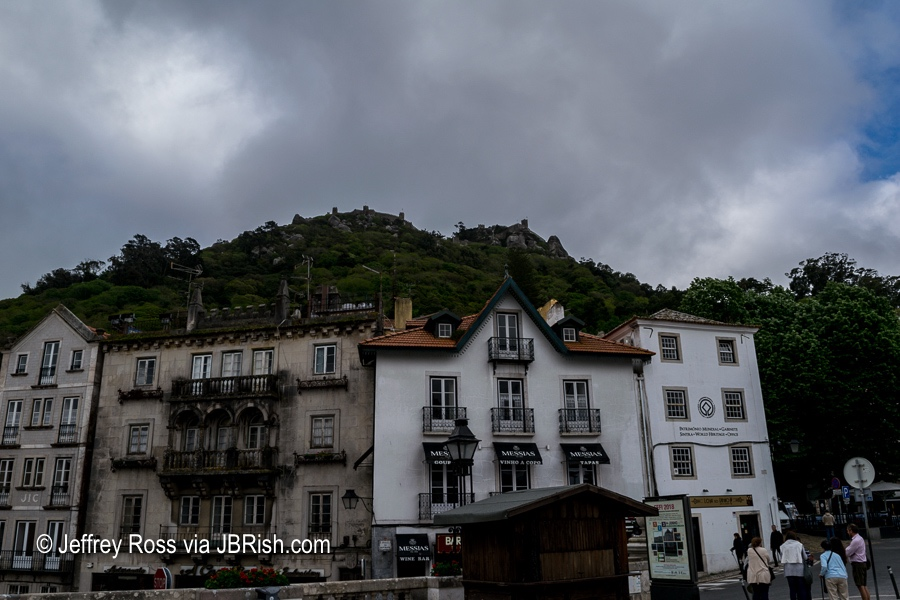 A gloomy morning in Sintra