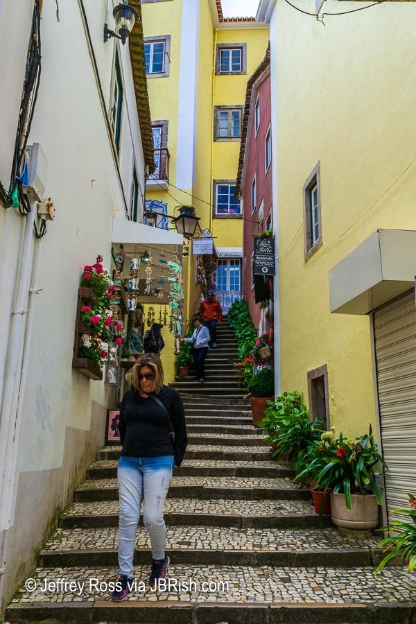 streetside stairway