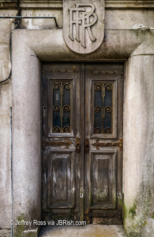 An Old Historic Doorway in Sintra, Portugal