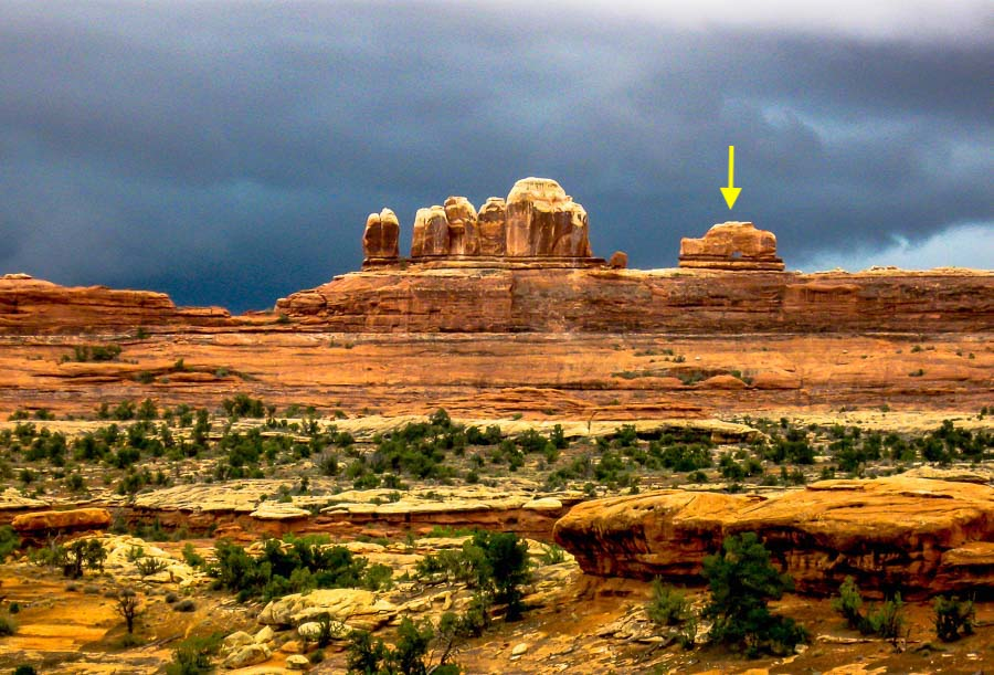 Stormy Canyonlands Wooden Shoe Arch