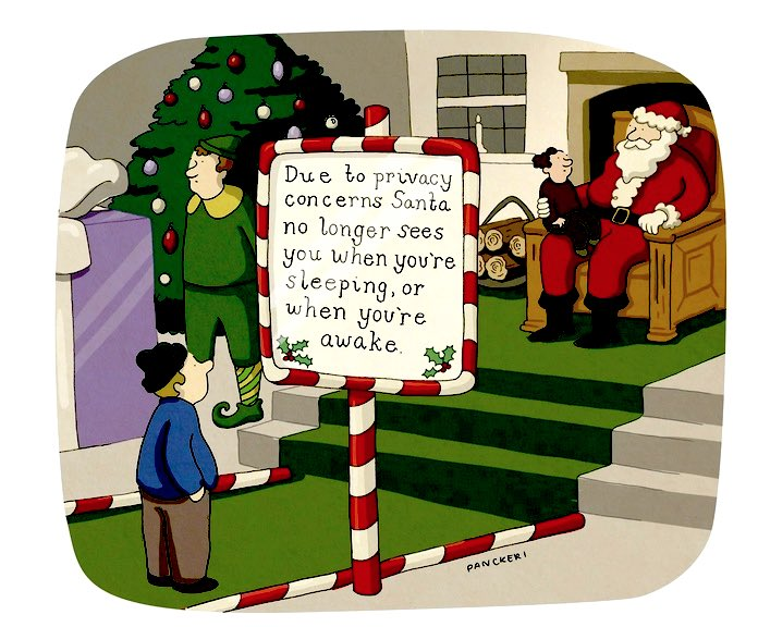 Santa's Privacy Claus