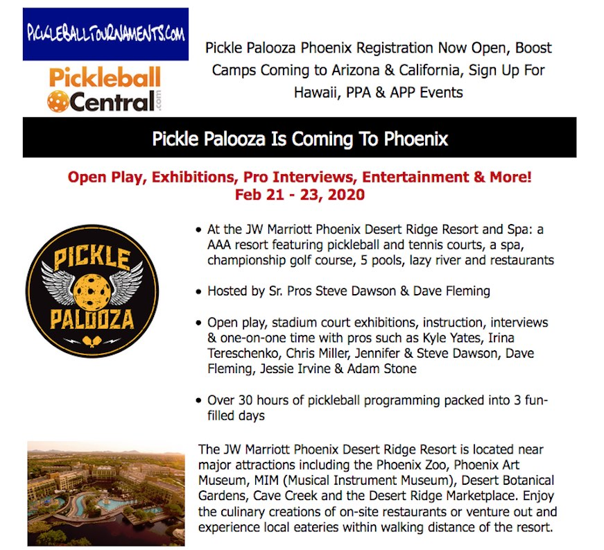 Desert Ridge Mafriott Pickle Palooza