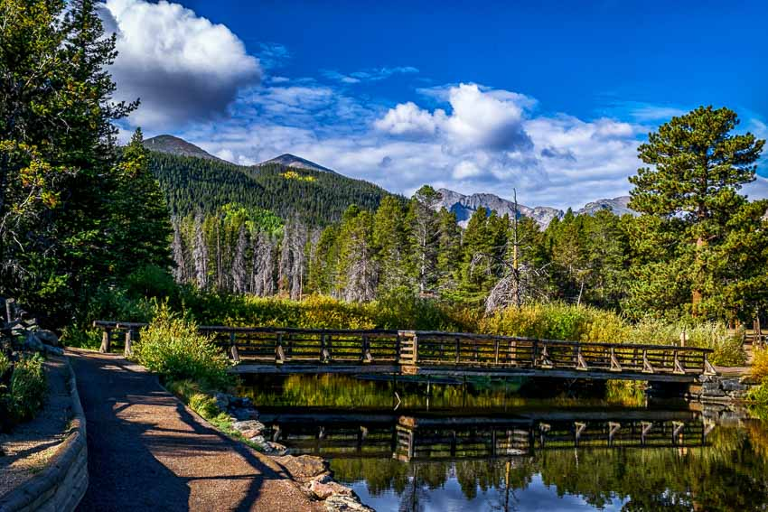 Sprague Lake, RMNP, CO - by J. Ross
