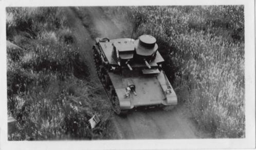 A single LIGHT TANK M2A2