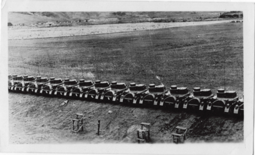 A group of LIGHT M2A2 TANKS